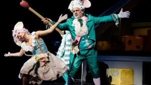 Egerek a Nemzeti Színházban Fotó: Boda Ágnes