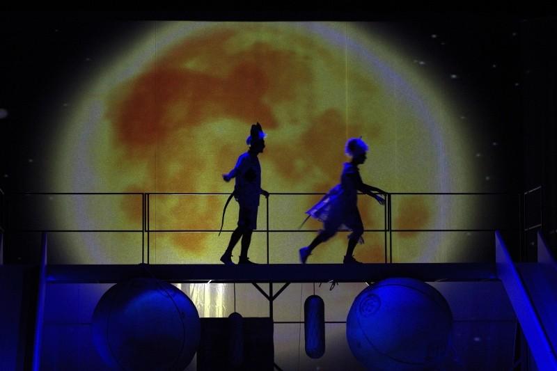 Egerek a Nemzeti Színházban Fotó: Szántói Lilla
