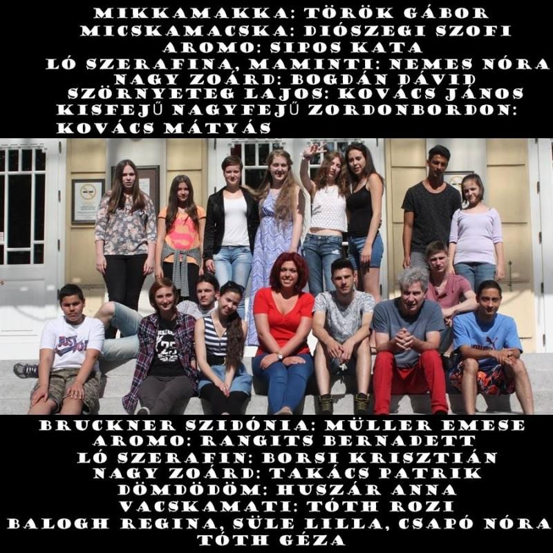 A Karaván-Csiky stúdiósok plakátja a prezentációhoz