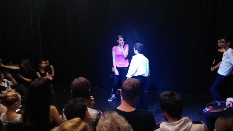 Színészmesterség prezentáció Fotó: Nyári Pál