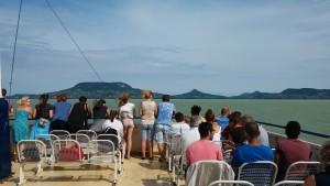 Hajókirándulás a 2016-os táborban Fotó: Nyári Pál